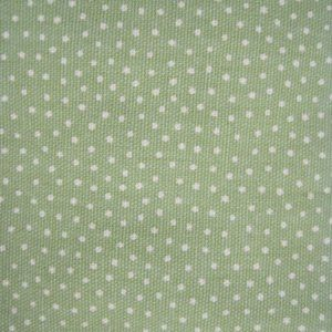 Dottie Waverly Fabric Upholstery Polka Dot Green